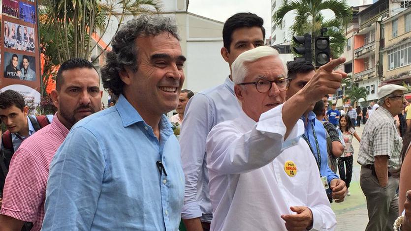 El excandidato Presidencial Sergio Fajardo y el Senador Jorge Robledo toman  la decisión de votar en blanco - Meridiano 70