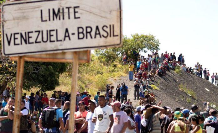 Resultado de imagen para Venezolanos en brasil